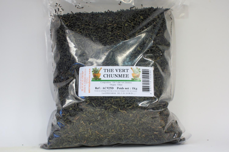 Acheter du thé chun mee pas cher pour faire du thé vert